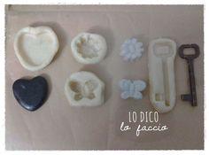 Lo Dico, lo Faccio : Come fare stampi in silicone handmade per gessetti make #molder #chalks