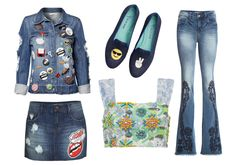 Peças jeans com patches e bordados para você se apaixonar