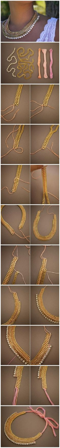 Top 10 Best Tutorials for DIY Necklaces - Top Inspired