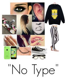 """No Type"" by alainna-1 ❤ liked on Polyvore featuring Retrò, Wildfox, Converse, women's clothing, women's fashion, women, female, woman, misses and juniors"