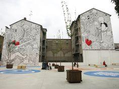 ★ Street Art by Millo – in Milano, Spain ★