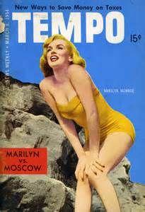 tempo magazine covers  MARILYN MONROE