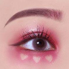 Korean Eye Makeup, Eye Makeup Art, Asian Makeup, Eyeshadow Makeup, Makeup Inspo, Makeup Inspiration, Beauty Makeup, Makeup Ideas, Cute Makeup Looks