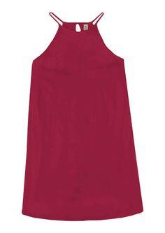Vestido Curto Básico Com Decote Halter Neck | Hering