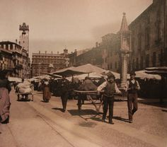 La Verona at Verona Spritz Verona, The Past, History, City, Vintage, Pictures, Fotografia, Historia, Cities