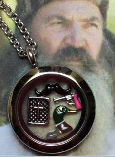 Duck Dynasty Locket - you know you want one! - Designed by You Lockets with Deborah Kruks  www.southhilldesigns.com/holdthevision