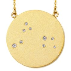 Aries constellation necklace (the Aquarius one is very pretty, too!)