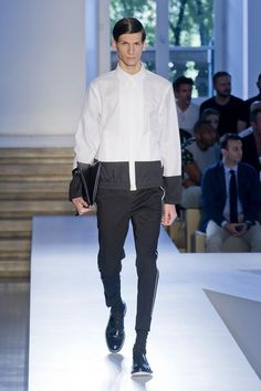 COOL CHIC STYLE to dress italian: Jil Sander SPRING/SUMMER 2014 MENSWEAR COLLECTION | MILAN FASHION WEEK