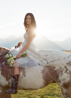 Carrie Patterson Wedding Photography - Fine Art Wedding Photography in Jackson Hole, Scottsdale, Sun Valley, Colorado & Montana Horse Wedding, Wedding Pics, On Your Wedding Day, Wedding Bells, Rustic Wedding, Wedding Gowns, Dream Wedding, Cowgirl Wedding, Wedding Ideas