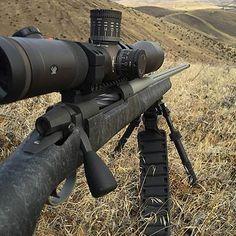 Affordable custom long range hunting rifle