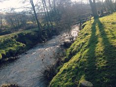 Streams in the valley - Peak District