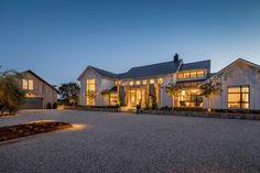 Fresh modern farmhouse style with stunning views of Napa wine country - Modern farmhouse exterior -