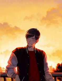 Richard, I guess Cute Anime Pics, Cute Anime Boy, Cute Anime Couples, Anime Art Girl, Anime Boys, Anime Nerd, Manga Anime, Kawaii Anime, Estilo Anime