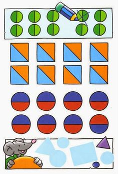Maestra de Infantil: Fichas a color de Prematemáticas. Actividades de Lógicomatemáticas para infantil Craft Activities For Kids, Crafts For Kids, Cube, Education, Games, Color, Kids Education, Activities, Numbers Preschool