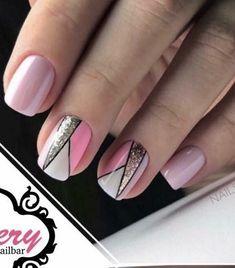 Nail Designs 2017, Fancy Nails, Easy Nail Art, Makeup Tips, Make Up, Hair Styles, Work Nails, Toe Nail Art, Stiletto Nails
