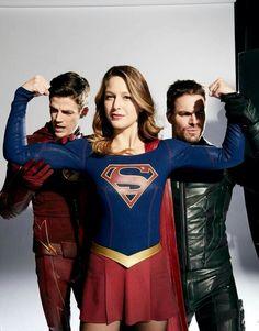 The Flash, Supergirl & Green Arrow