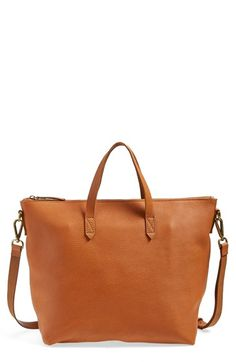 Free shipping and returns on Madewell Leather Zip Transport Bag at Nordstrom.com. Ideal for your daily commute, this supple leather bag is designed to be slung over your shoulder with an adjustable shoulder strap. The top zip closure ensures all your everyday necessities stay in place, no matter how bumpy the road gets,