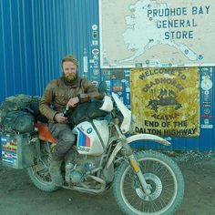 Throwback: Our own, very much alive, bucking and kicking Horse at Deadhorse, Alaska. Memories that become stronger with each day and that will certainly stay with us for many years to come. #Deadhorse #prudhoebay #Alaska #arcticcircle #bmwgs #offthebeatentrack #bmwscrambler #scrambler #explore #traveltheworld #overlandadventure #adventure #caferacer #dualsport #advrider #advlife #daltonhighway #motorbike #r80gs #r1200gsa #dirtbike #belstaff #herebedragons #uglybrosusa @belstaff #champagne