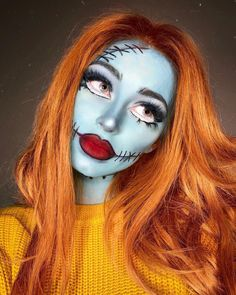 These Disney-Inspired Halloween Makeup Looks Are Absolutely Enchanting in Every Way The magic of Disney extends much further than the sweet movies and enchanting theme parks. This Halloween, take inspiration for dreamy costumes and magical Makeup Clown, Costume Makeup, Tiger Makeup, Cute Halloween Makeup, Halloween Makeup Looks, Halloween Nails, Halloween Makeup Artist, The Sweetest Thing Movie, Meme Costume