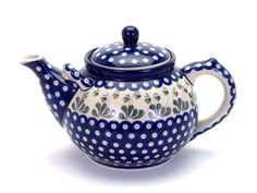 Country Traditionals :: Teapot (3 Litres) in the Love Leaf pattern