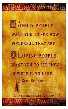 Power of love...                                                       …