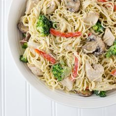 Recipe: Chicken Pasta Primavera