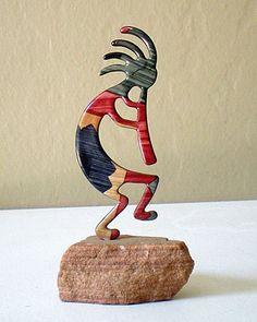 Unique Native American Art Kokopelli  $22