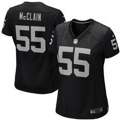Nike Rolando McClain Oakland Raiders Women's Game Jersey – Black