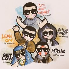 DJ SNAKE    (ART BY:Tuyet.hong (@tuyethongg) | Twitter