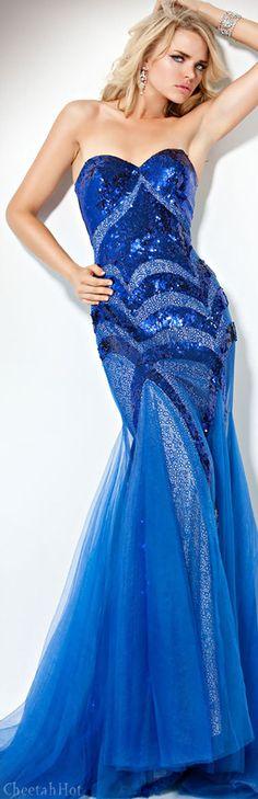 Jovani Royal Evening Gown