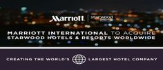 #Wine & #hospitality sectors are consolidating: #Marriott buys #Starwood for $12.2B.
