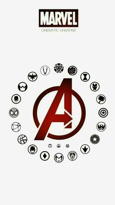 All avengers heroes symbols Logo Avengers, Avengers Quotes, Avengers Imagines, Marvel Memes, Marvel Dc Comics, Marvel Logo, Avengers Symbols, Marvel Superhero Logos, Avengers Tattoo