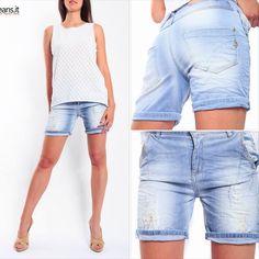 Maryley shorts Bermuda Shorts, Denim Shorts, Women, Fashion, Moda, Fashion Styles, Fashion Illustrations, Shorts, Woman
