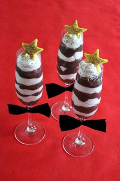 Celebrate the Red Carpet With Black Tie Parfaits - LifetimeMoms