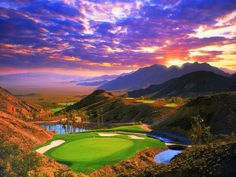 Las Vegas does golf courses right! Beautiful.  Pauite  Golf Club just outside  Vegas.