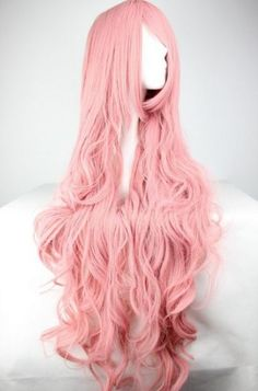Looking for the perfect Women/Ladies Long Curly Hair Cosplay/Costume/Anime/Party/Bang Full Sexy Wig (Pink)? Please click and view this most popular Women/Ladies Long Curly Hair Cosplay/Costume/Anime/Party/Bang Full Sexy Wig (Pink). Curly Pink Hair, Pink Wig, Long Curly Hair, Curly Hair Styles, Red Hair, Cosplay Hair, Cosplay Wigs, Anime Cosplay, Big Waves Hair