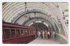 Daytonian in Manhattan: The Abandoned 1904 City Hall Subway Station