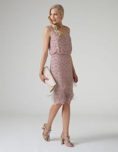 Mahi Dress | Pink | Monsoon