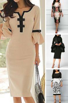 bodycon dresses, sheath dresses, bodycon midi dress, printed dress #bodycondresscasual