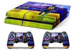 Skin PS4 HD LIONEL MESSI FC BARCELLONA b limited edition Playstation 4 COVER DECAL
