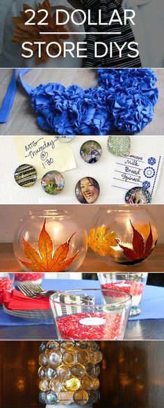 22 dollar store DIY projects to tackle!