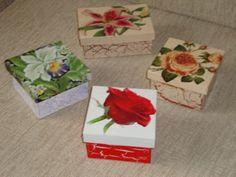Caixa de MDF decorada com decoupage 008