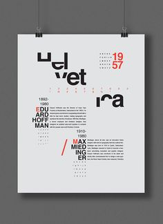 Helvetica Compelling use of the missing parts of each letter. Colors look stellar Helvetica Compelli Poster Fonts, Poster S, Type Posters, Poster Layout, Book Layout, Essay Layout, Poster Ideas, Graphisches Design, Game Design