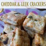 Cheddar and Leek Crackers Recipe
