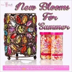 Sprinkle My Candles- Pink Zebra Independent Consultant: FLASH SALE! Gorgeous Kaleidoscope Shade with FREE ...