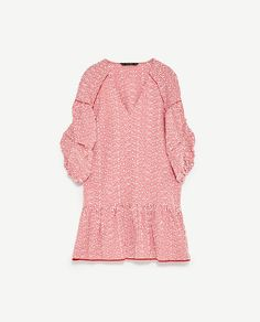 Image 8 of EMBROIDERED STRIPED DRESS from Zara