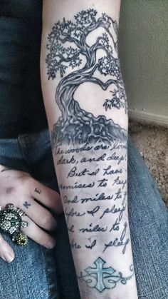 Stopping by Woods on a Snowy Evening • Contrariwise: Literary Tattoos