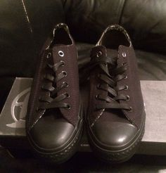 NEW CONVERSE ALL STAR WIZ KHALIFA MENS SZ  7 Womens Sz 9 BLACK Lo