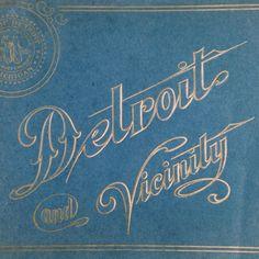 Detroit Vintage Typography
