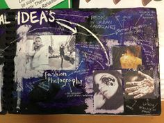Student Sketchbooks - Mindboards